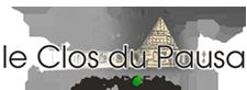 Le clos du Pausa Logo